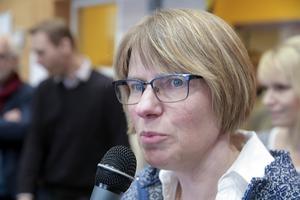 Rektorn Eva Johansson säger att en del föräldrar var lite oroliga innan flytten från Vasaskolan men att föräldrarna nu är nöjda med hur det blev.