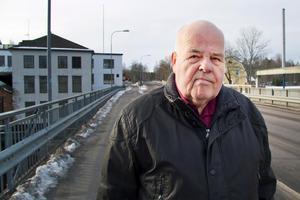 Inge Larsson är en av ett 50-tal aktiva som arbetar med att driva Virsbo Konsthall.