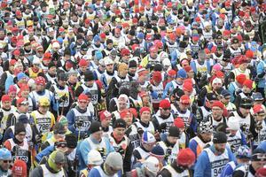 54 000 skidåkare är hittills anmälda till något av vinterveckans tio lopp.Foto Ulf Palm / TT /