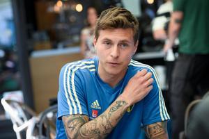Victor Nilsson Lindelöf gjorde sin VM-debut mot Tyskland. Bild: Maja Suslin / TT