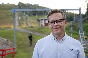 Josef Andersson är ordförande i Sundsvalls slalomklubbs nybildade cykelsektion.