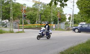 Trafikverket inför ny teknik som kommer att innebära kortare bomfällningarna vid Floragatan.