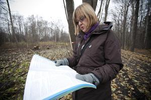 skyddad skog. Byggnads- och miljönämndens ordförande Lena Lundgren (S) konstaterade för två år sedan att Gävle Energi och Gästrike Vatten har avverkat skog på T-udden trots att området var tydligt skyddat i översiktsplanen för Gävle stad.