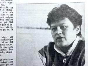 Bild från ÖA den 21 september 1993.
