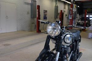 Motorcyklar äldre än 1978 är från och med i år besiktningsberfiade.