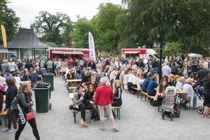Arrangörerna räknade med runt 2 500 gäster innan kvällen skulle vara slut.