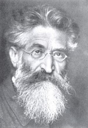 Fritz Mauthner av okänd konstnär.