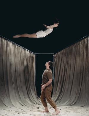 Cirkusföreställning med Below Zero sätts upp den 9 november. Foto: Isak Stockås