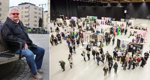 Erik B Löfgren kom med idén att starta en utbildning för projektledare inom upplevelseindustrin i Örebro. I höst börjar en ny årskull. Foto: Stefan Ignell
