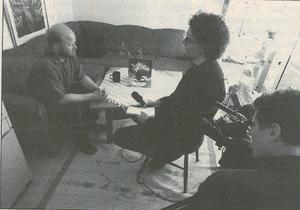 En av många intervjuer efter vänsterns valseger 1998. Stig sa till FP direkt efter valframgången att han