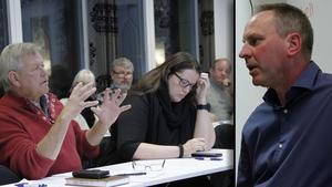 Sören Görgård, (C), kom till mötet som Tomas Persson bjudit in till.
