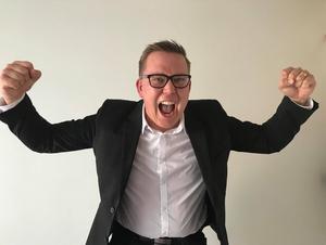 Mattias Wallström vann priset som Årets Förnyare för sin insats för Mittmedias sportaffär.