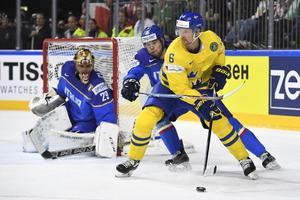Anton Strålman är tillbaka i USA för att förbereda sig inför att NHL-säsongen ska återupptas.