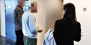 Bild på 40-åringen från häktningsförhandlingen den 29 oktober.