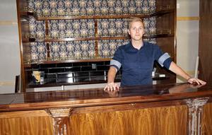 Pontus Ryding hoppas att Donells bar ska öppna till påsk 2018.
