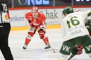 Jesper Dahlroth är en av spelarna som lämnar Timrå IK efter SHL-avancemanget.