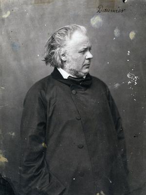 Honoré Daumier 1858. Foto:  Félix Nadar
