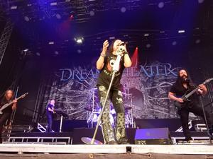 Basisten John Myung, keyboardisten Jordan Rudess, sångaren James LaBrie, trummisen Mike Mangini och gitarristen John Petrucci utgör sedan 2011 dagens upplaga av Dream Theater. Foto: Janne Mattsson
