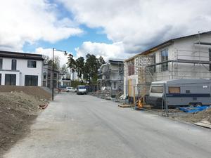 Det byggs nytt i Glasberga sjöstad. Foto: Torbjörn Granström