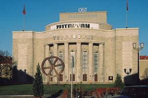 VolksbühneVolksbühne i Berlin. Arkivbild.