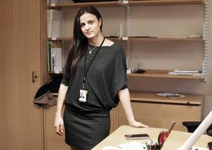 Sara Seppälä vill inte skylta med sitt boende i Stockholm. Privat har hon flyttat från Ullånger till Dorotea under hösten.