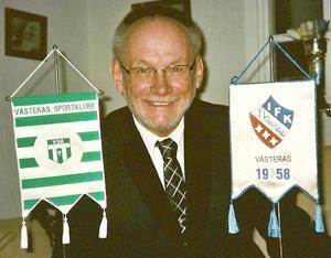Esbjörn startade IFK Ekberga 1958 och året därpå blev han aktiv i VSK där han blev kvar i 50 år.Foto: Privat