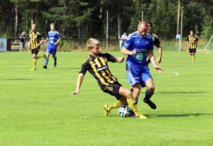 Erik Wästman visade mest energi i hemmalaget när Rengsjö föll med 1–2 mot Korsnäs.