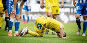 GIF Sundsvall hade svårt att bryta igenom och kom till få avslut i förlustmatchen. Bild: Jonas Lindstedt/TT