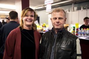 Malin Svedin och Perry Lindahl.