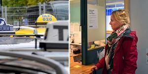 Sjukvårdspersonalen på akuten suckade tungt när Monica Jernström berättade om telefonsamtalet med taxibolaget. Det är inget nytt problem. Bild: TT och Ellinor Gotby Eriksson
