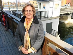 Lena Asplund (M), partiets toppnamn i regionvalet.