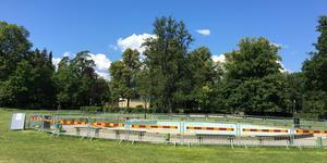 Plaskdammen Stadsparken Örebro förblir stängd under resten av sommaren.