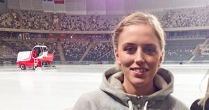 Hanna Brusberg visade vägen till storsegern med sina tre poäng (2+1) och såg till att AIK nu har två chanser på sig att ta sig till Studenternas. Foto: TT Arkivbild
