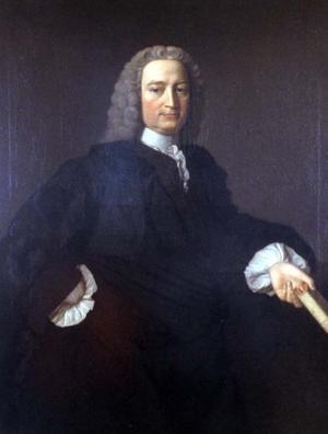 Francis Hutcheson 1745. Målning av Allan Ramsay.