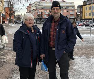 Solveig och Björn Blomqvist.