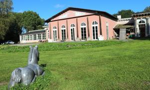 Lördag 7 september blir det vernissage, konstnärssamtal och musik i Orangeriet i Skebo.