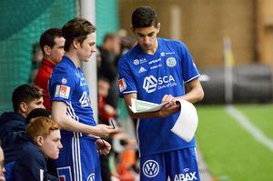 Sebastian Friman och Paya Pichkah – två unga och lovande spelare i GIF Sundsvall.