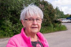 Birgitta Svensson är glad att det löste sig med den berusade mannen, men har svårt att förlika sig med det första beskedet, att polisen inte skulle komma.