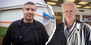 Ordkrig. Kommunalråd Lars Isacsson (S) och fastighetsägaren Stefan Sundh.
