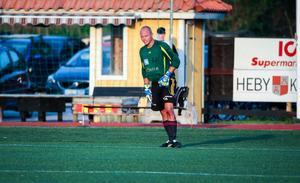 Jonas Hörnebro tog en av två straffar i matchen.