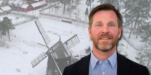 Joakim Nordlund, ägare till företaget Qetar som äger marken och ligger bakom idén om att bygga hotell på Torekällberget.