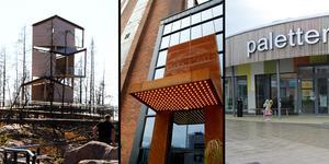 Grävlingsbergets utsiktstorn, Steam hotel och Paletten på Vallby var några av de nominerade till Arkitekturpris i Västmanland 2019.
