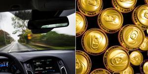 En man var alkoholpåverkad när han körde lätt lastbil i Nynäshamn.