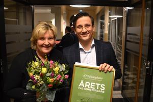 Marie Selin, operativ chef, och Andreas Nelvig, vd, utgör halva ledningsgruppen på NP3. De två övriga är Linda Ekman, ekonomichef ,och Carl Linton, IR-chef.