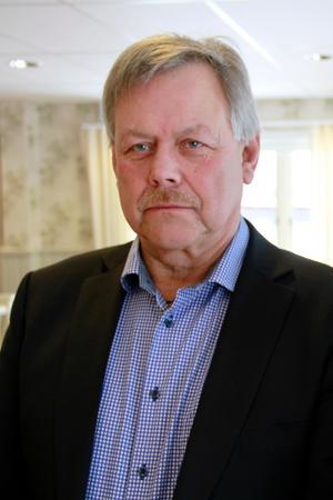 Sören Görgård är ordförande i styrgruppen och kontaktpolitiker för folkhälsa i Ljusdal.