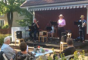 Erik Nilsson, också känd som Bondhyttans Caruso, gjorde succé. Foto: Rune Johansson, Läsarbild