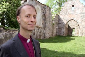 Biskop Mikael Mogren. Foto: Johannes Söderberg/ SVT