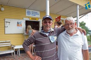 Gunnar Wegrell och Janne Hedlund har båda varit medlemmar i över trettio år. Janne Hedlund har rekordet på 55 år totalt.