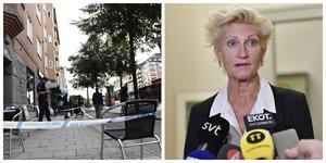 """Kammaråklagare Christina Voigt åtalar vd:n för mord. Han säger sig inte minnas något av händelsen. """"Och det är inget jag ifrågasätter"""", säger Voigt. Bild: TT"""