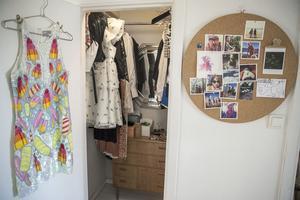 Att gå in i garderoben är det bästa Johanna Thofelt vet.